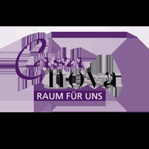 Logo des Unternehmens Casa Nova in lila