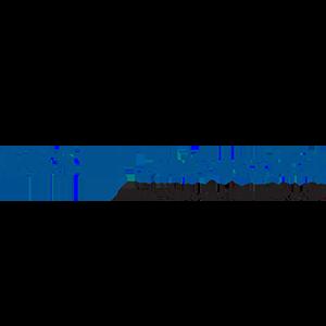blaue und freigestelltes Logo von der EBS Universität für Wirtschaft und Recht
