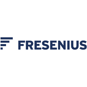 Fresenius Logo in blau