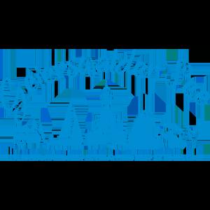 Logo vom Geierswalder See in blau und freigestellt