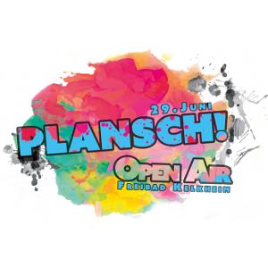 Logo des Musikfestivals Plansch Open Air
