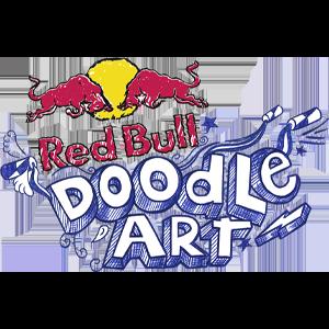 Logo vom Red Bull Doodle Art Event