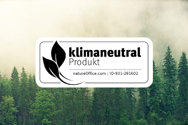 Logo für klimaneutrale Produkte von natureoffice