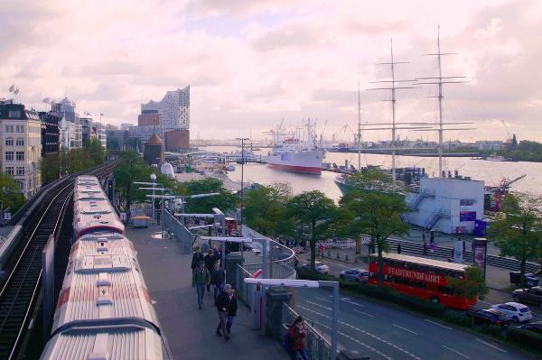 Bild vom Hamburger Hafen