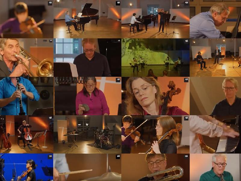 Vorschaubild Trailer: On Air - Ensemble Modern live aus dem Dachsaal / live from the attic livestreaming