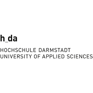 Logo der Hochschule Darmstadt (hda) University of Applied Sciences