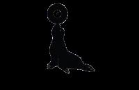 SeehundMedia Logo in schwarz